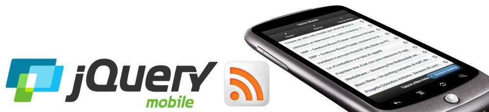 Sito Web per smartphone con jQuery Mobile – Lettore di Notizie
